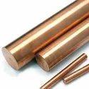 Beryllium Copper / UNS C17200 / AlloyC17200 / DIN 2.1247 - Round Bar