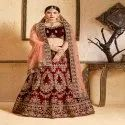 Heavy Bridal Wear Lehenga Choli