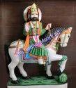 Baba Ram Dev Marble Moorti
