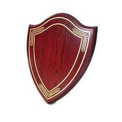 Shield Shape Certificate Plaque