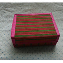 Bamboo Red Square Gift  Box