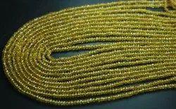 Natural Yellow Sapphire Beads