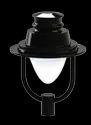 Hanging Saturn LED Post Top Lantern