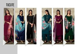 Tucute Georgette With Inner Party Wear Designer Kurti With Plazzo Collections