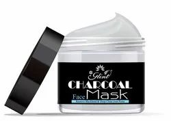 Anyone Glint Charcoal Face Mask, Packaging Size: 250g, Jar