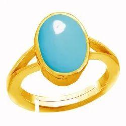 Turquoise Ring Panchdhatu Gemstone