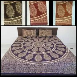Printed Traditional Cotton Bedsheets