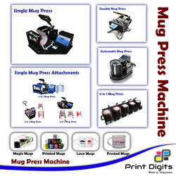 Semi-Automatic Single Mug Press Machine