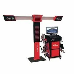 Four Camera Digital 3D Wheel Alignment Machine
