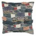 Decorative Embroidery Accent Cotton Cushion Cover