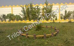 Cement Garden Wall