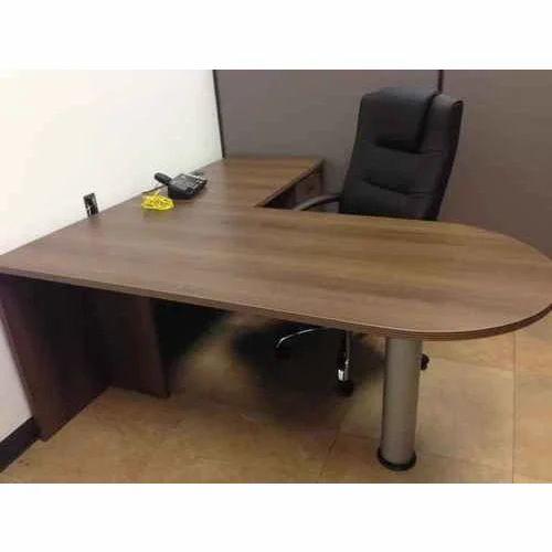 Wooden L Shape Designer Office Table Warranty 1 Year Rs 18000 Piece Id 20199401591