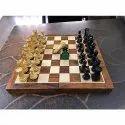 King 3 Club Staunton Sheeshamwood Chess Set