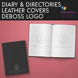 Diaries with custom Logo/Name