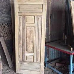 Exterior Polished Real Wooden Sagwan Doors
