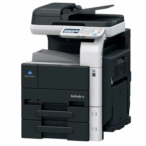 Laser Black Konica Minolta Photocopier Machine, Model Name/Number: C226