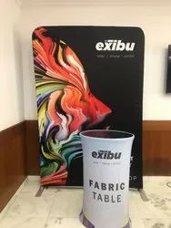 Exibu Events Backdrop Display