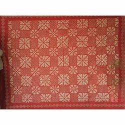 棉印花现代切割工作床单,为家