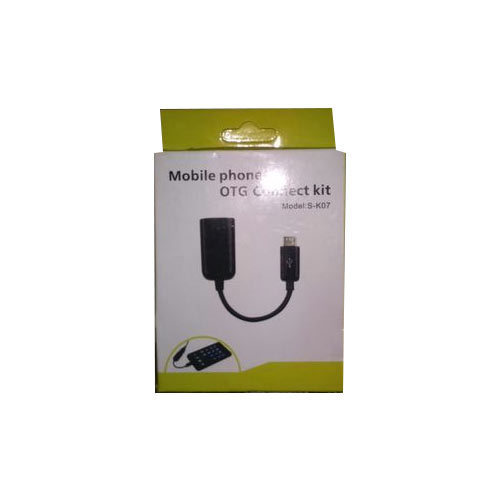 Black Mobile Phone OTG Cable