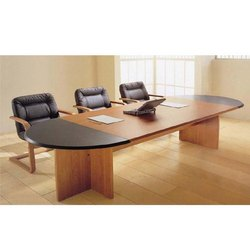3 Chair Conference Table Set