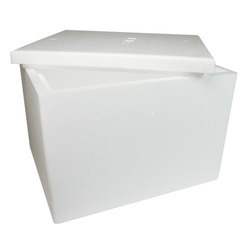 White B4 Type Thermocol Box