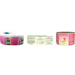 Cosmetics Jar Labels