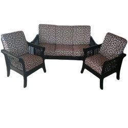 Parson Wooden Sofa Set