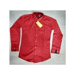 44.0 Plain Men Red Shirts