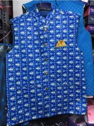 Blue Nehru Jacket