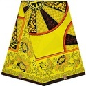 Georgette African Wax Fabric, Gsm: 150-200, Use: Bags & Backpacks