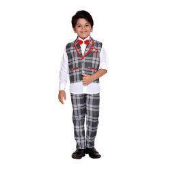 Party Wear Cotton Kids Suit Set