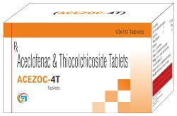 Aceclofenac & Thiocolchicoside Tab
