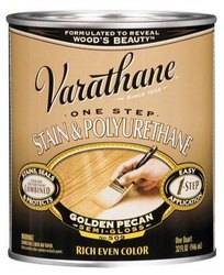 Rust-Oleum Varathane One Step Stain and Polyurethane Oil-Based - 946 Ml