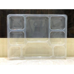 8 Compartment Disposable PP Meal Tray