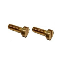 Round Brass Cheese Head Screw