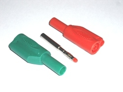 Sheathed Retractable Banana Plug CE Approved