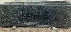 Stone Rajasthan Black Granite Slab, For Flooring, Thickness: 15-20 Mm