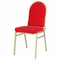 Red Banquet Designer Chair