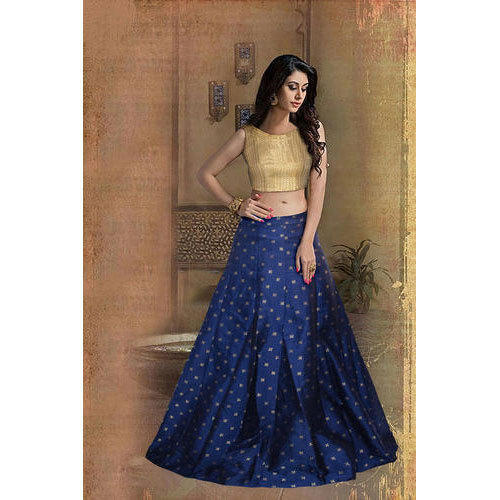 424e653c0 Ladies Taffeta Silk Wedding Wear Lehenga Choli, Rs 699 /piece | ID ...