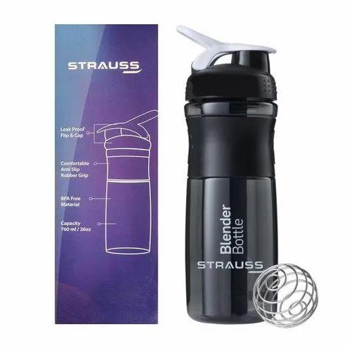 Strauss Dual Shaker Pro 700ml Red