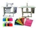 Semi Automatic Non Woven Bag Making Machine Unit