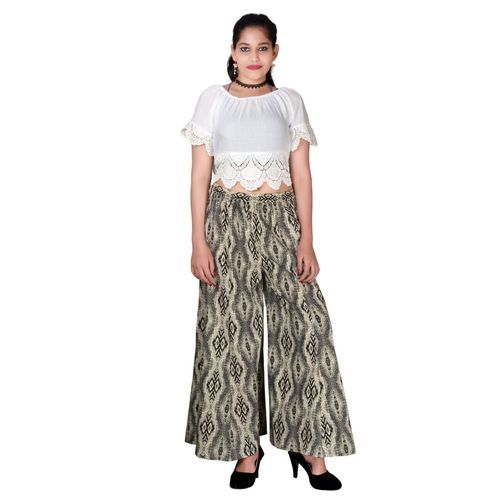 a5dfdadf9 Ladies Cotton Culottes Palazzo Pant