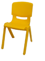 Yellow Kids School Chair