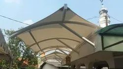 Lean to Roofs Tensile Structure
