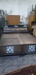 Brown Second Hand Bed