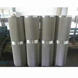 Stainless Steel Cylindrical Wire Mesh Filter, Filtration Grade: 2mic - 500mic
