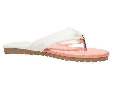 294c03c3a Bata White Flat Chappals For Women F571141600