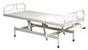 Mass Lift Aluminium Hospital Semi Fowler Bed, Size: L 2140mm * W 940mm * H 500mm