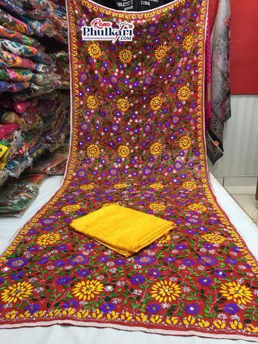 da09d2463d Handwork Georgette Dupatta with Plain Suit at Rs 1350 /piece ...