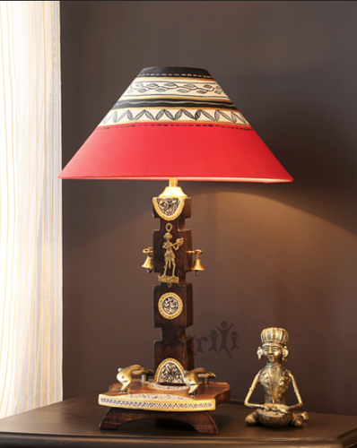 Hand painted lamp shade aac 027 004 at rs 2199 piece haath se hand painted lamp shade aac 027 004 aloadofball Choice Image